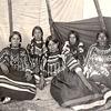 Blackfeet women. Montana. Early 1900s.