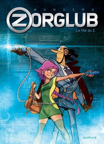 BD - Zorglub, tome 1 : la fille du Z