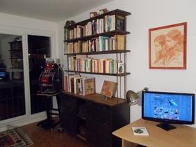 mobilier industriel bibliotheque acier et bois o'range Metalic Meuble a clapets 4