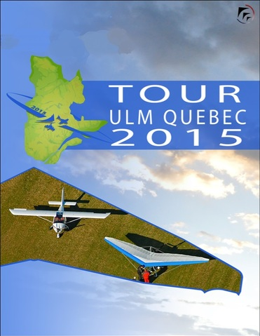 TOUR ULM QUEBEC  2015