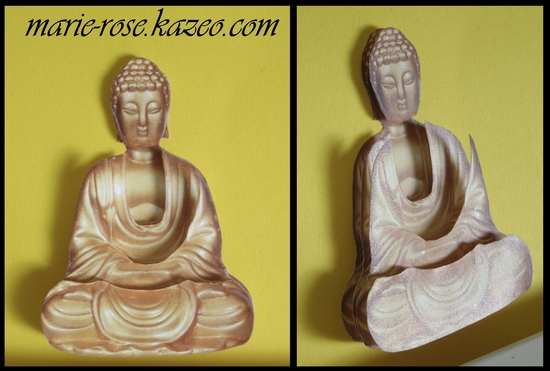 Bouddha-plat