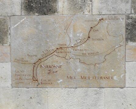 Narbonne: la Via Domitia