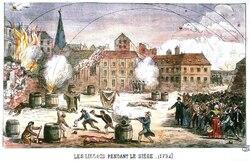 1792 - le siège de Lille - dommages de guerre