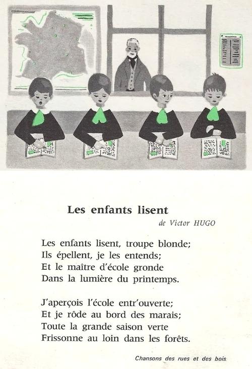 Les enfants lisent (Victor Hugo)