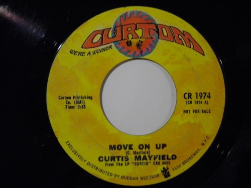 1972 : Single SP Curtom Records CR 1974 Promo / CR 1974 [ US ]