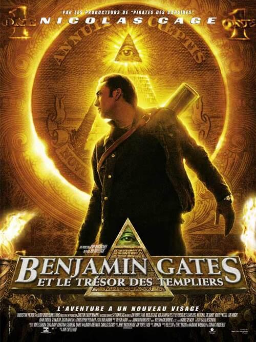 BENJAMIN GATES ET LE TRESOR DES TEMPLIERS BOX OFFICE FRANCE 2004