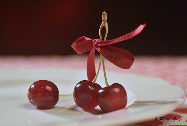 """""""Fraises, fleurs et cerises"""", de très beaux clichés de Jean-Pierre Gurga"""
