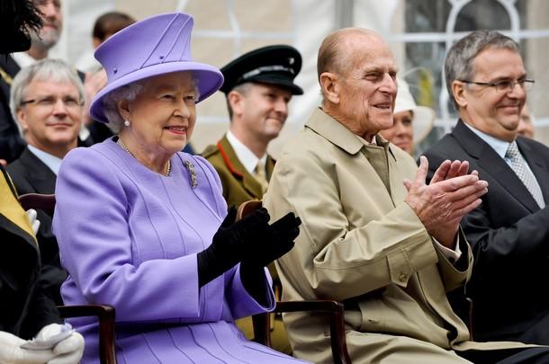 Elizabeth et Philip à Exeter