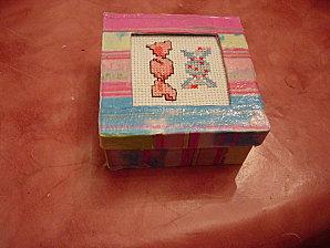 échange de Noël 2009 Véro à Natacha broderie et deco-02