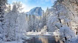 Winter Mountain Landscape 4k Ultra HD Wallpaper ...