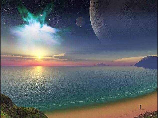 C'est beau la Terre !