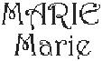Dictons de la Ste Marie + grille prénom !