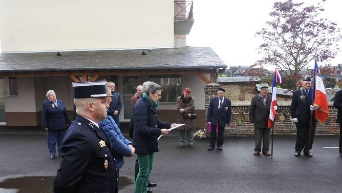Dans l'Eure, un admirateur de Pétain  préside la cérémonie en mémoire des déportés... il en est de même pour la commémoration du 19 Mars 1962