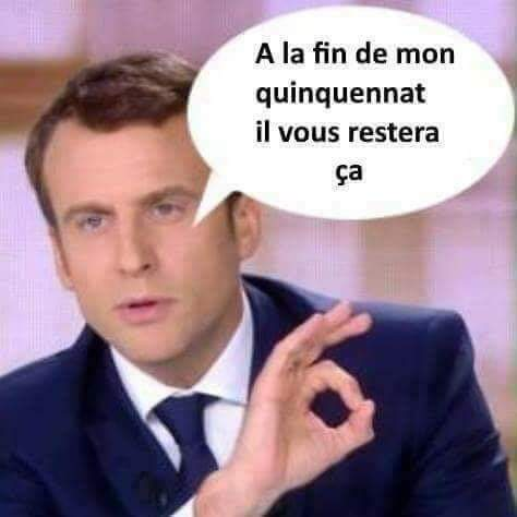 La destruction de la France par Macron