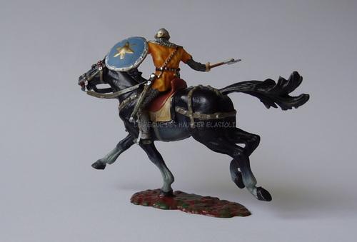 Réf: 8854/56 Les cavaliers avec bouclier rond, épée ou hache