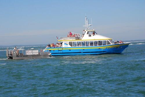 "Gros bateau et ""son annexe"""
