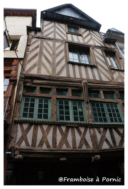 Rennes, quartier historique