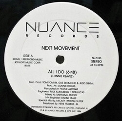 The Next Movement - All I Do