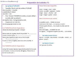 Dictées et fiches de préps CE2 proposées par McVoilier
