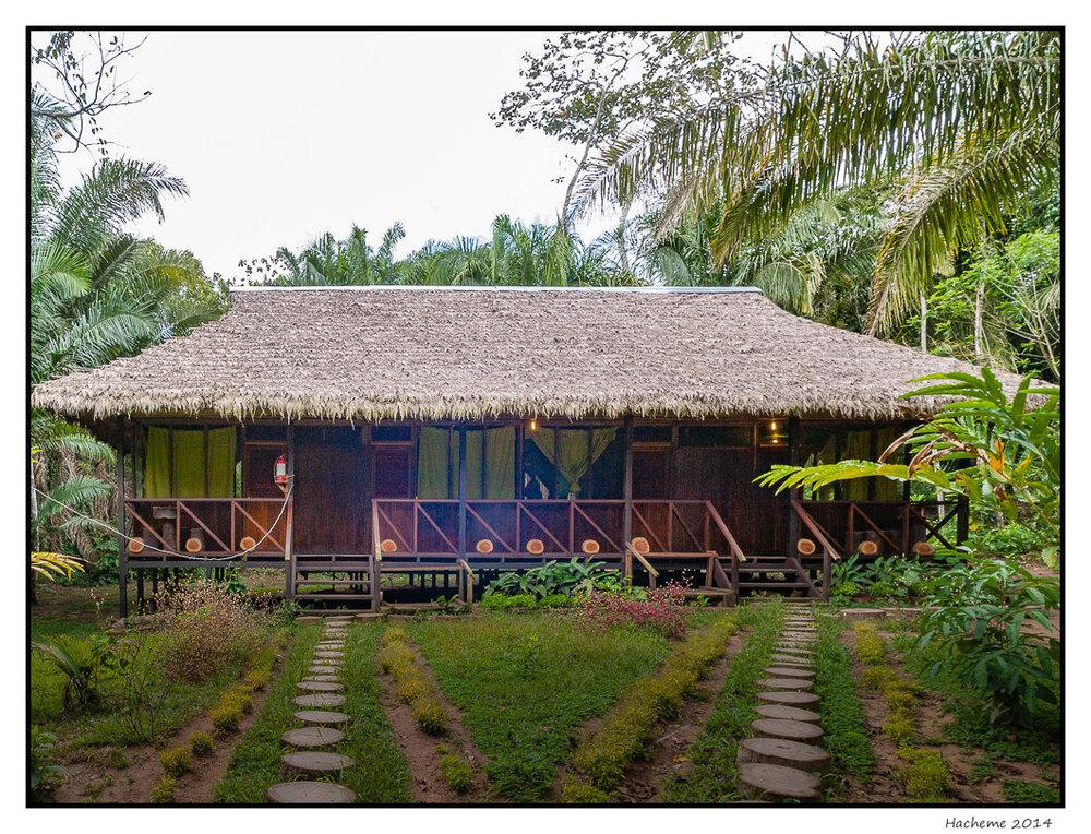Lodge en Amazonie
