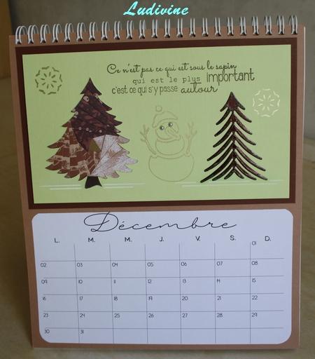 Calendrier AZZA : mois de décembre -1