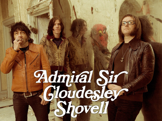 Admiral Sir Cloudesly Shovell