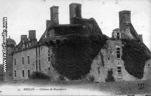 Château de Kergroadez - Finistère