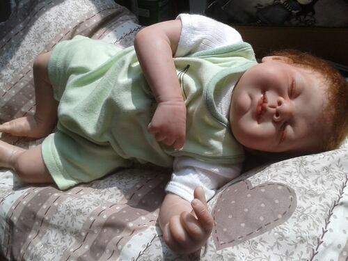 <Emile le jumeau de léonie est né