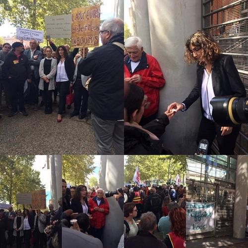 Audience au TGI : jugement de Céline Boussié lanceuse d'alerte poursuivie par l'IME Moussaron