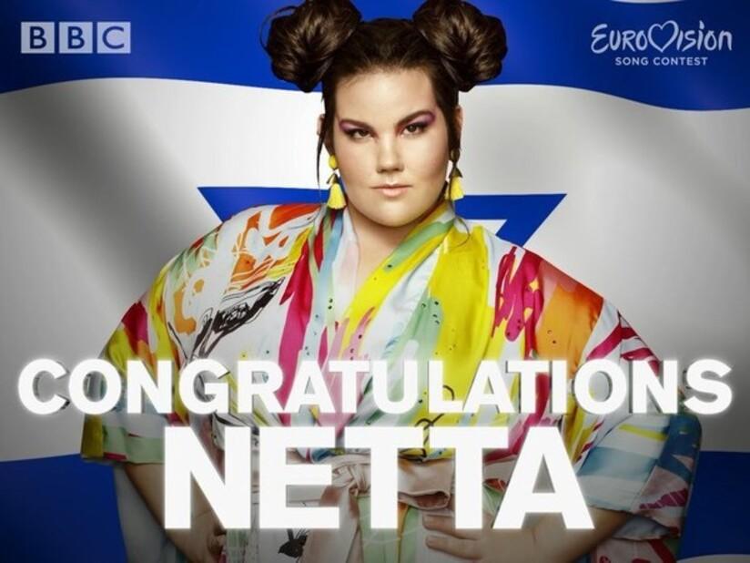 NETTA BARZILAI  VAINQUEUR AU PRIX DE L'EUROVISION 2018