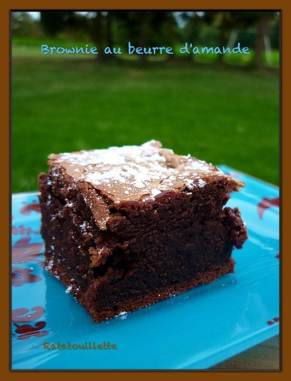 Brownie à la crème d'amande