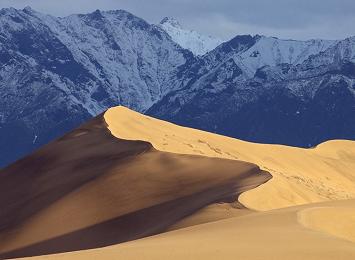 Même la glaciale Sibérie a son désert de sable ...