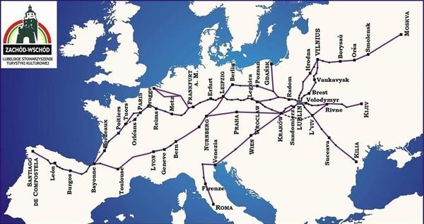 Chemins de Russie et d'Europe