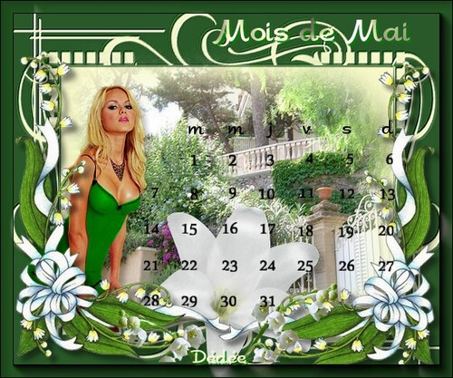 calendrier MAI