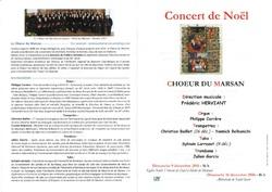 Programmes des concerts