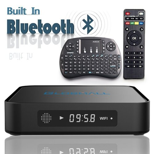 Globmall 6.0 Android Smart TV Box avec Mini Clavier