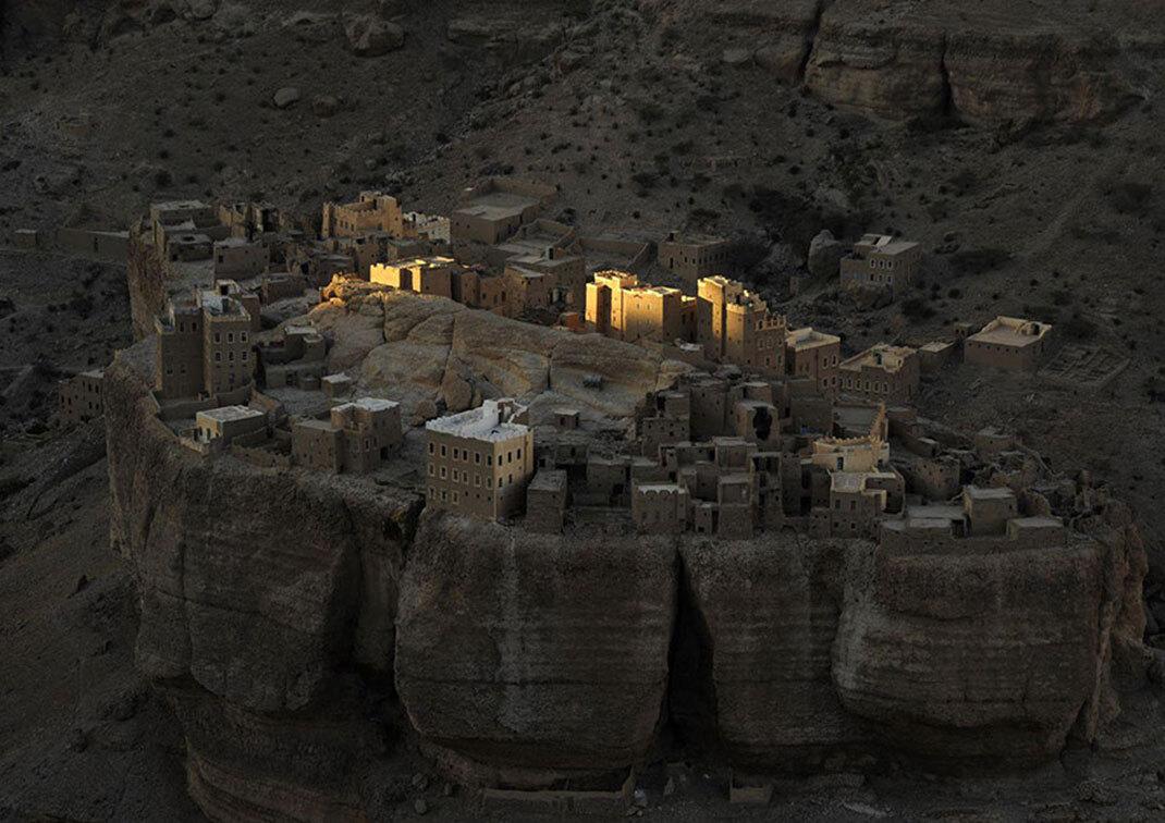 La forteresse du Yemen de Paul Nevin, Wadi Dohan, Yemen