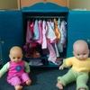 Petit dressing pour poupée