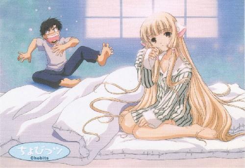 Chobits : Hideki et Chii