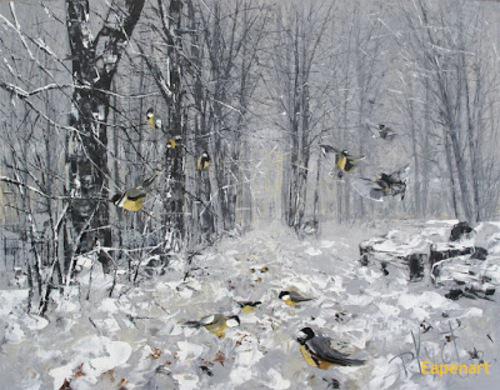 Peinture de : Dmitry Kustanovich