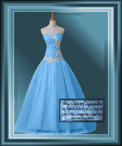 Tube  Aphrodite Création - Robe 01