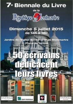 7e Biennale du Livre de Montmartre