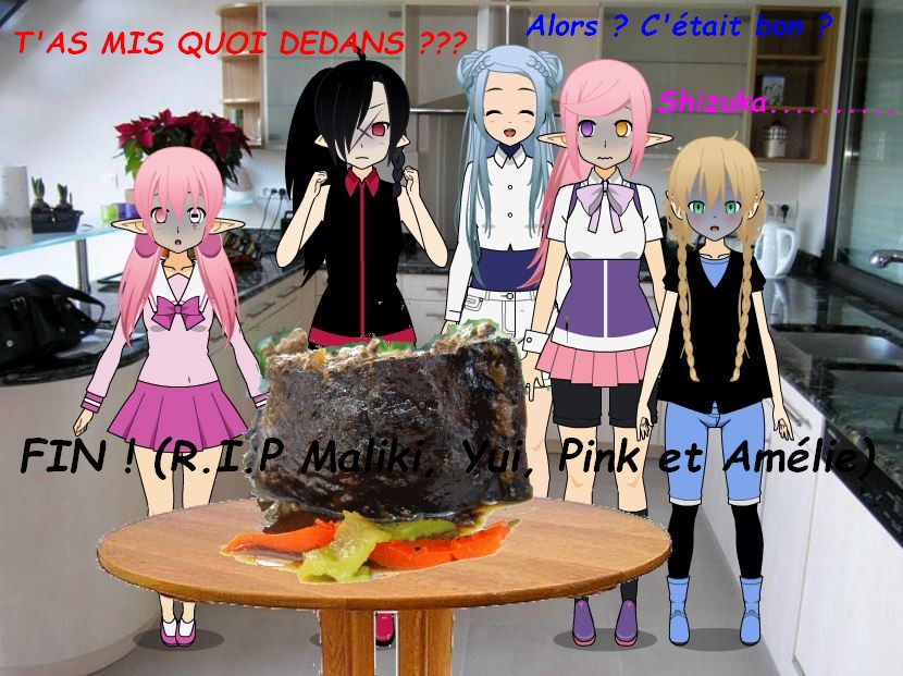 """[Kisekae] [Suite en quelque sorte de la première BD] """"Un repas mortel."""""""