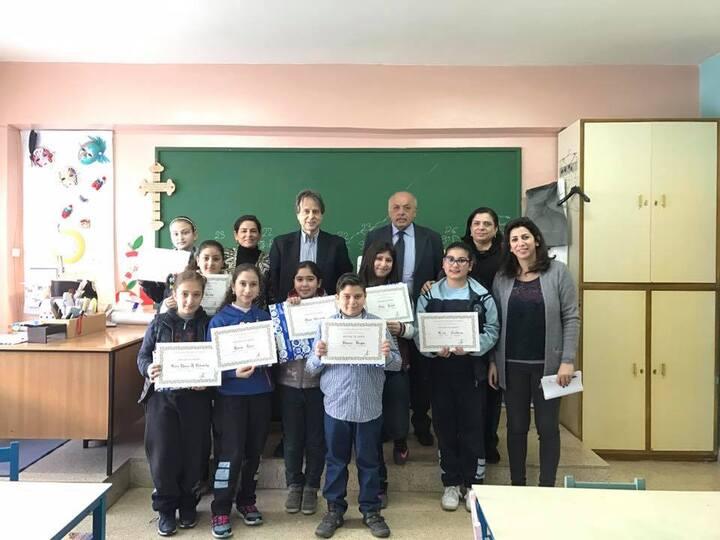 Les lauréats du concours de dessin Fabriano