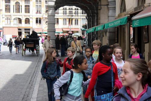 [4e année] Notre visite dans le centre de Bruxelles