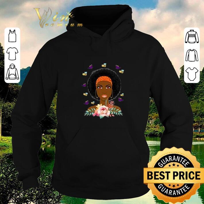 Funny Black Woman Breast Cancer Warrior shirt