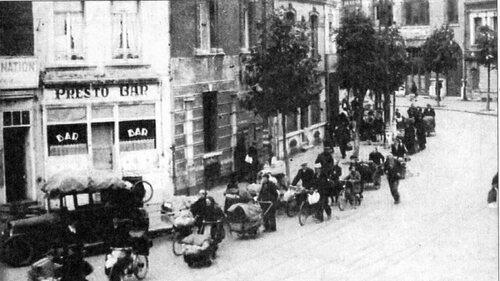 29 septembre 1944, les Calaisiens fuient