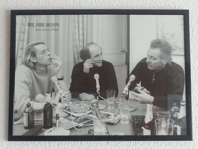 Brel, Ferré, Brassens