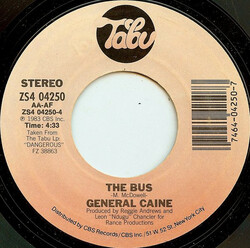 General Caine - The Bus