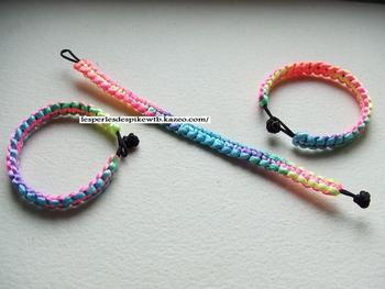 Bracelet Dégradé Fluo Boucle (1-2)